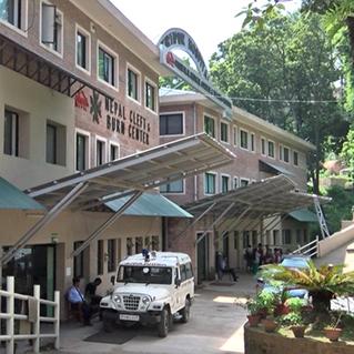 The NCBC 4 story, 16,000 square foot hospital in Kathmandu