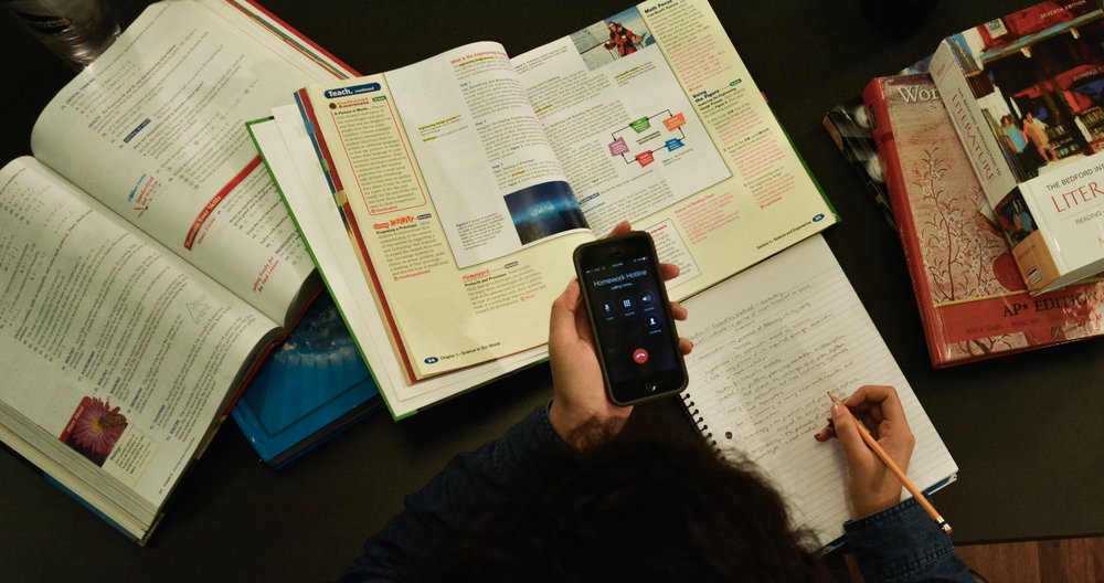 homework hotline mnps