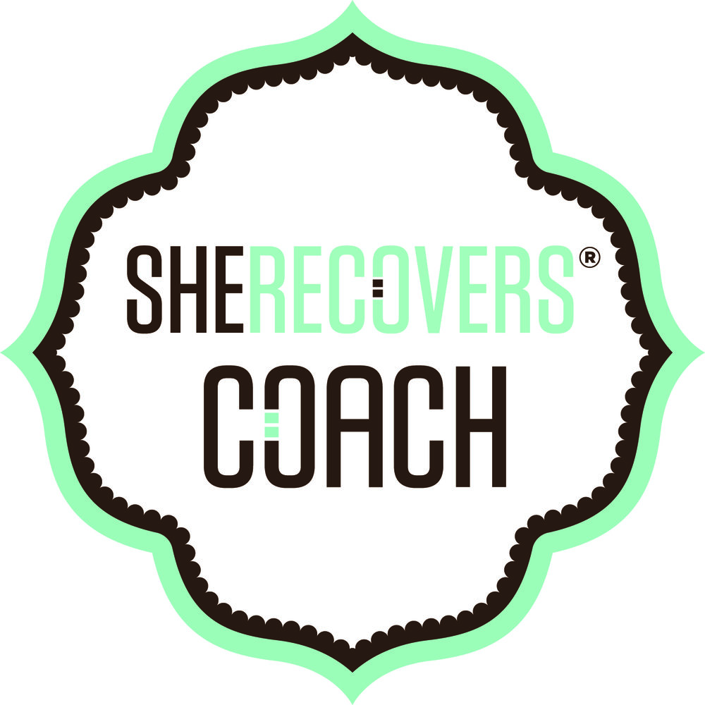 I am a SHE RECOVERS® Coach, - which means that I am trained in and my work aligns with the SHE RECOVERS® Intentions & Guiding Principles.SHE RECOVERS ® is an international movement of women in or seeking recovery from a wide variety of issues, including substance use issues, codependency, loss and other life challenges. SHE RECOVERS ® creates welcoming spaces and transformative opportunities – online and in real life – to connect, support and empower recovering women.