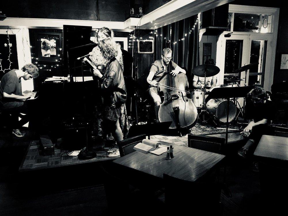 Poetry and Music at the Deerhead Inn, Delaware Water Gap, PA