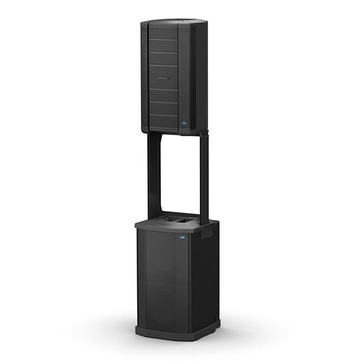 "The Bose® F1 Model 812 Flexible Array Loudspeaker is the first powered portable loudspeaker that lets you control its vertical coverage pattern. Simply push or pull the array into position to create ""Straight,"" ""C,"" ""J"" or ""Reverse J"" coverage patterns. And once set, the system automatically changes the EQ to maintain optimum tonal balance for each coverage pattern. So whether you're playing at floor level, on a stage, or facing raked seats or bleachers, you can now adapt your PA to match the room   $1199.00 Per Speaker"