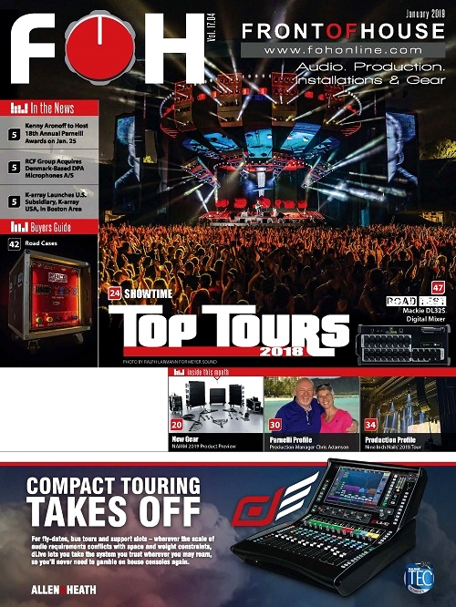 See our write up in the January 2019 Issue of FOH Magazine