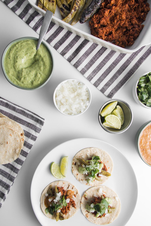 Taqueria Style Plant-Based Taco Night