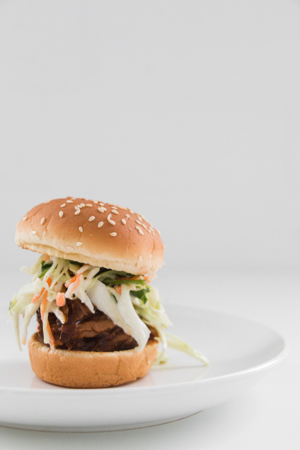 Chipotle Bbq Pulled Pork Sliders with Cilantro Slaw