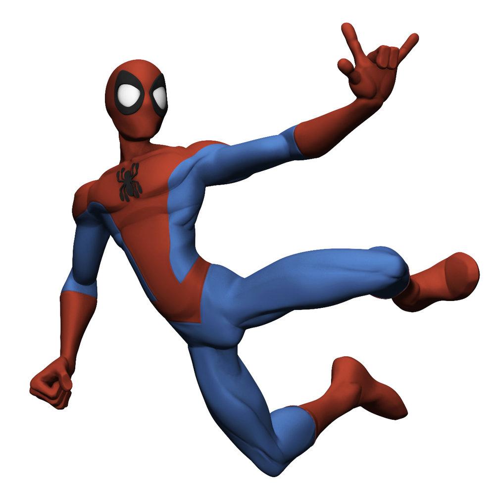 ZBrush Model - SPIDER-MAN