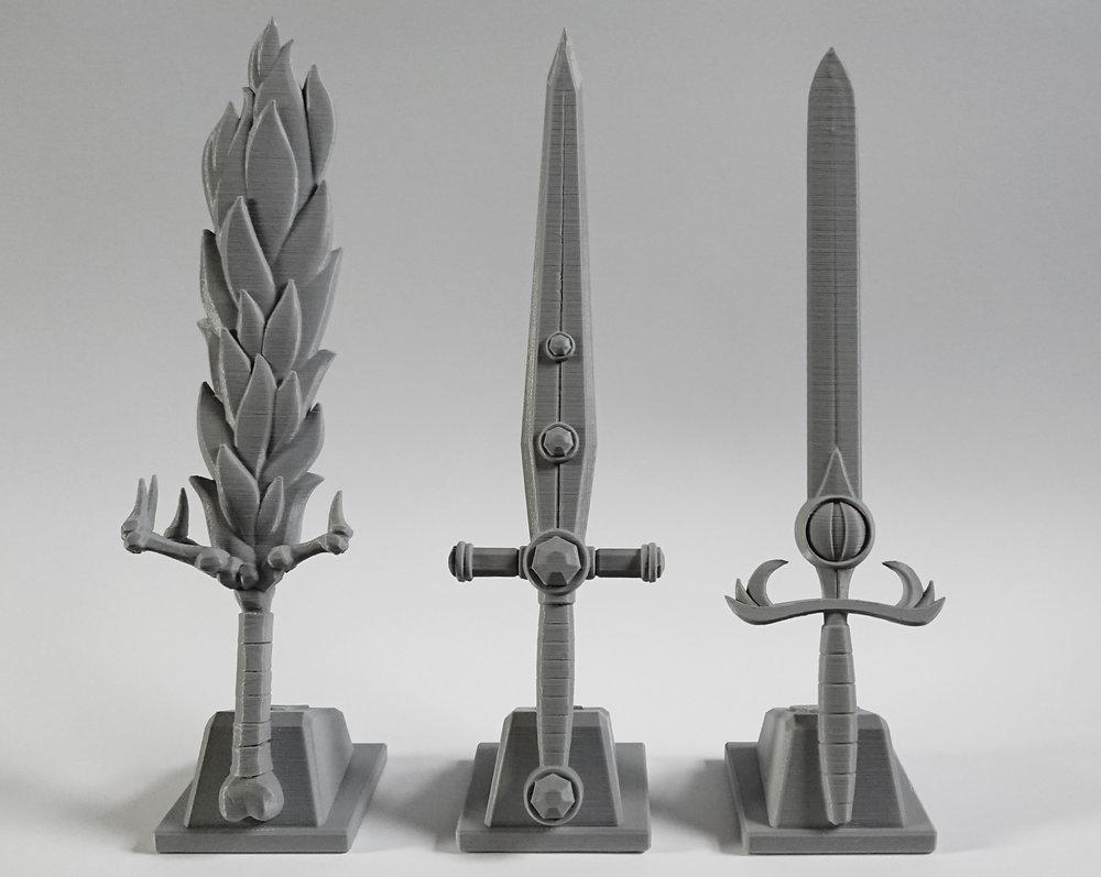 3D Printed - ALL SWORDS