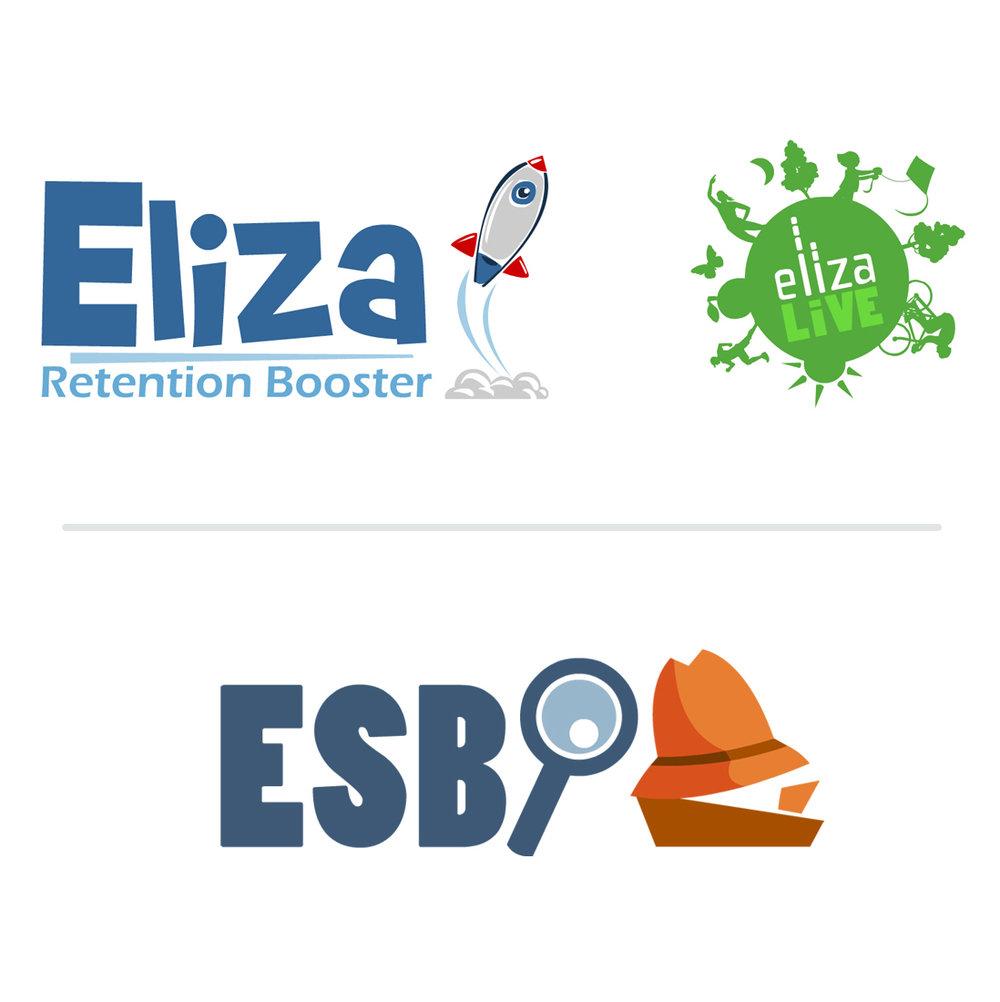 Eliza Corp. Logo Designs, Danvers, MA