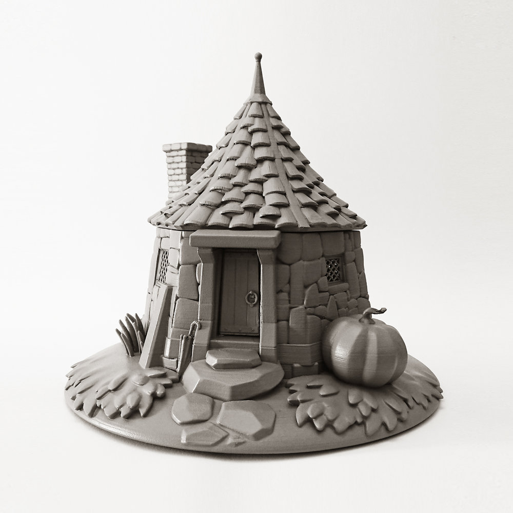 3D Printed - HAGRID's HUT