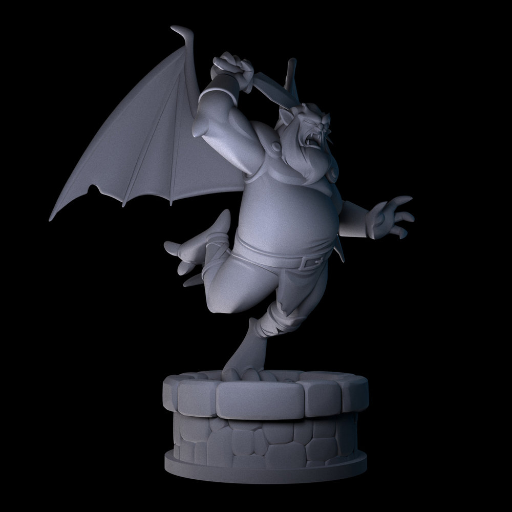 ZBRUSH MODEL - DISNEY'S GARGOYLES