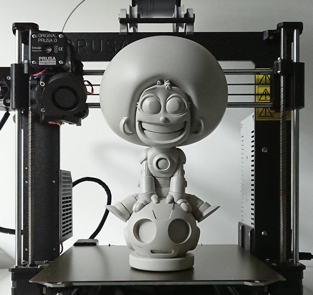 3D PRINT - IRONHEART MODEL