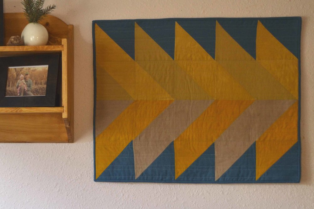 Pinefalls Quilt. Original design by The Blanket Statement