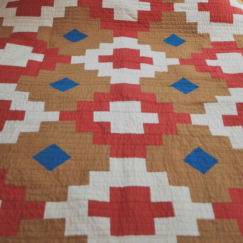 Desert Mosaic Quilt. Original design by AzCo Quilting
