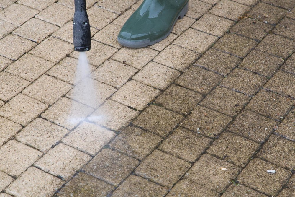 Pressure Washing - Our versatile pressure washing service can be employed on any outdoor job, be it on your driveway, walkway, siding, or any tough-to-clean spot. Our 4000 PSI pressure washers can handle any job!