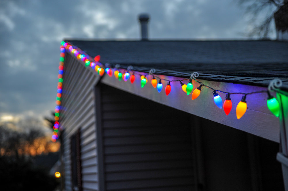Christmas Lighting - We will make your house the jolliest on the block. We pre-order all of our Christmas Lighting to ensure you have the best quality lights lighting up your property.