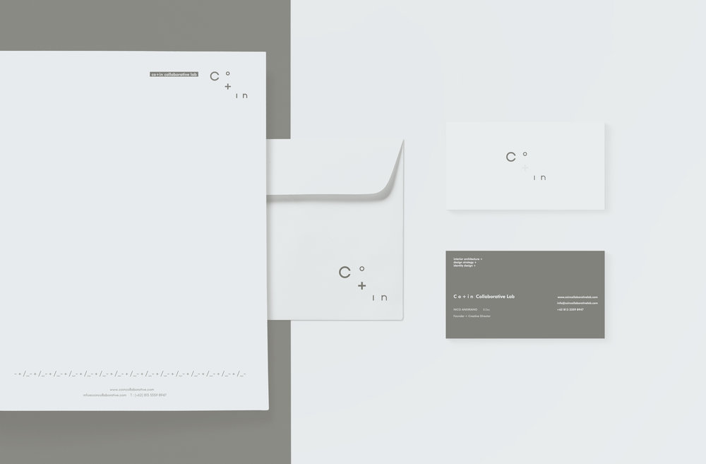 Project : Co+in Collaborative Lab  Type : Branding