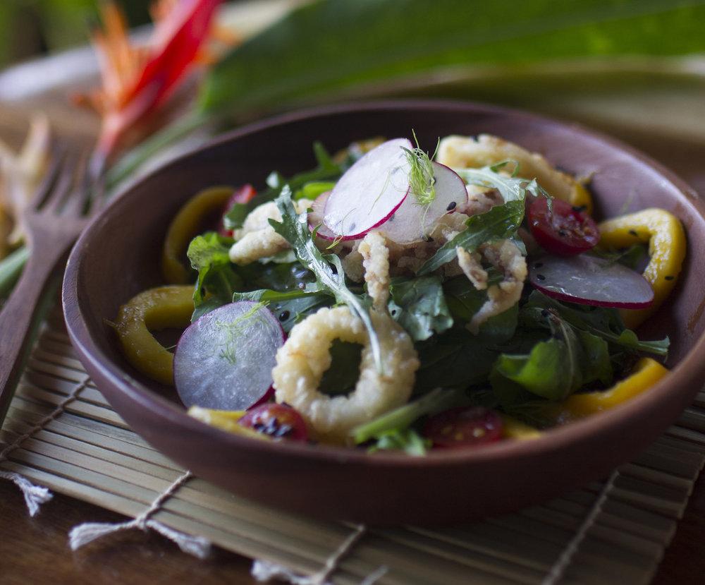 Rocket calamari salad.jpg