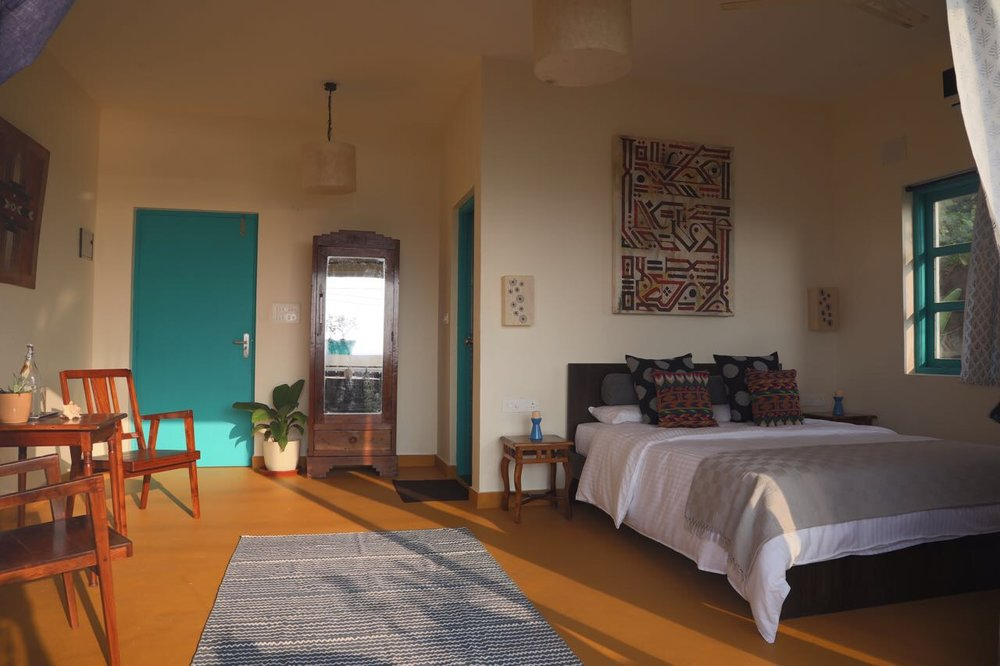 Villa Rooms at the Vaayu Guest house in Goa