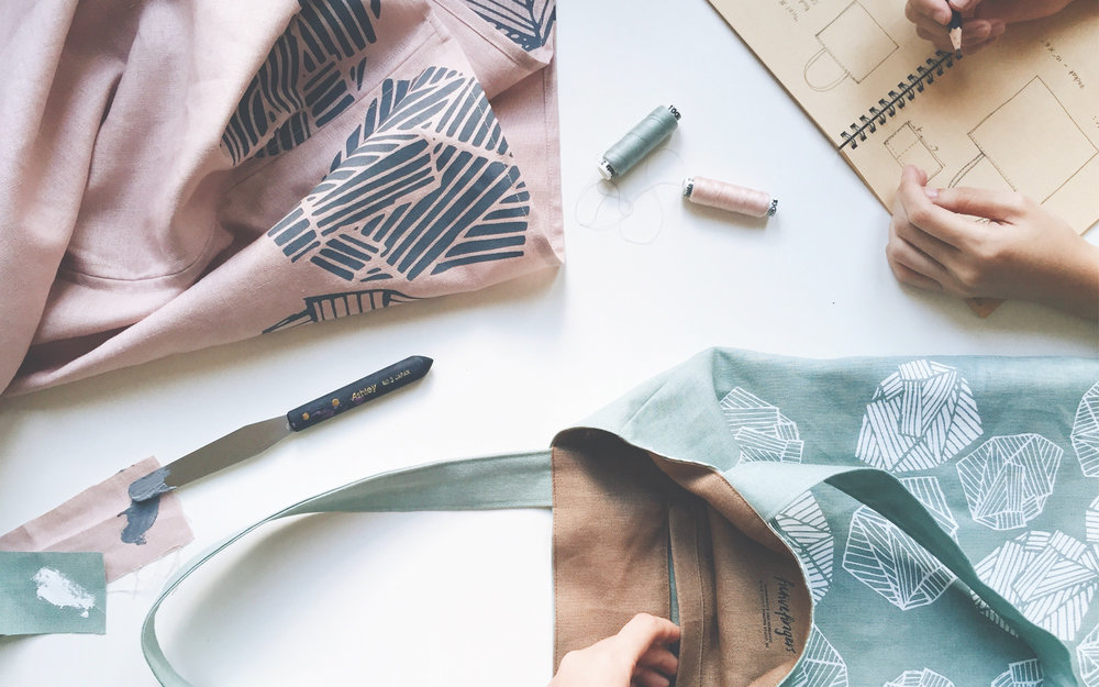 Hani & Aisah Dalduri - A sister textile design duo with a simple mission to put emphasis back on living in harmony with the environment