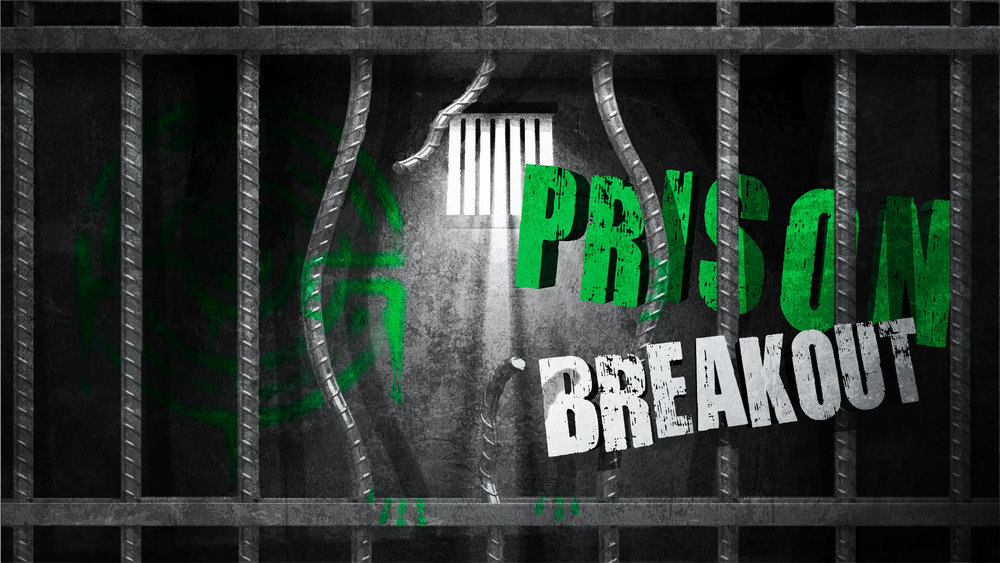PRISON BREAKOUT - Your team have been wrongly incarcerated! Having been paid a large sum of money the warden refuses to let you leave the facility.You've been working on escaping for months and now is the time, get out the cells and break into the medical room to disarm the security systems. You need to be quick though, as the prison warden will be back in an hour!