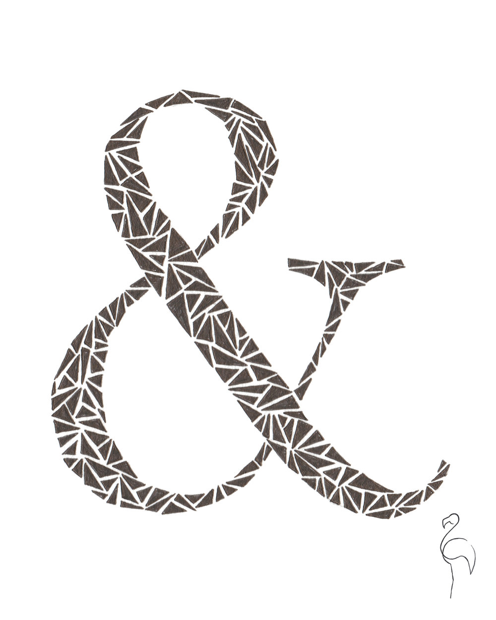 Brazzlebird - Ampersand Drawing Shatter Triangles.jpg