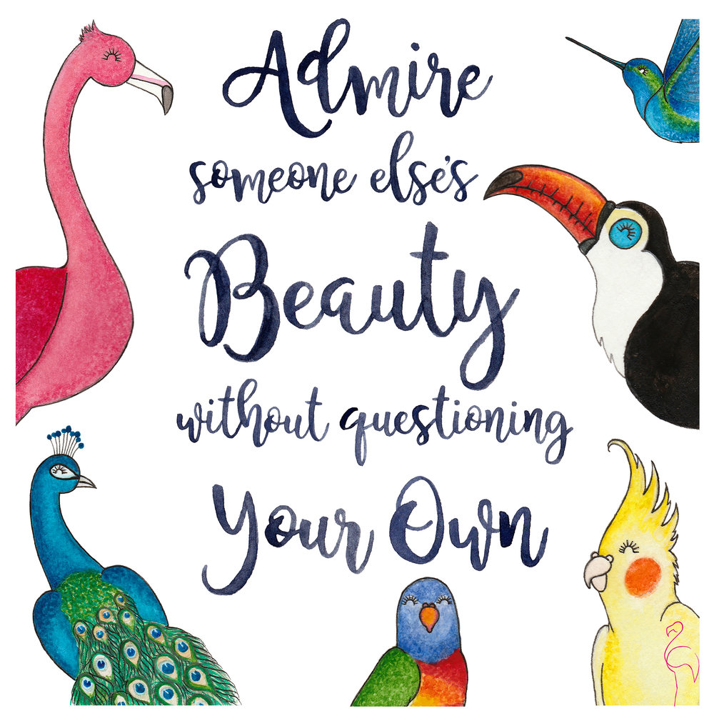 Brazzlebird - Admire Someone Else's Beauty Without Questioning Your Own