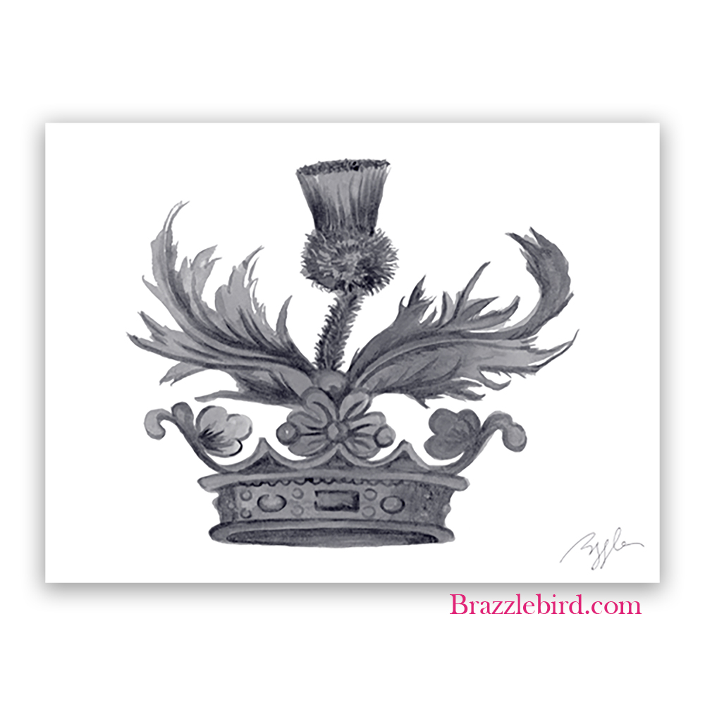Outlander Crown and Thistle Silver Thumb.jpg