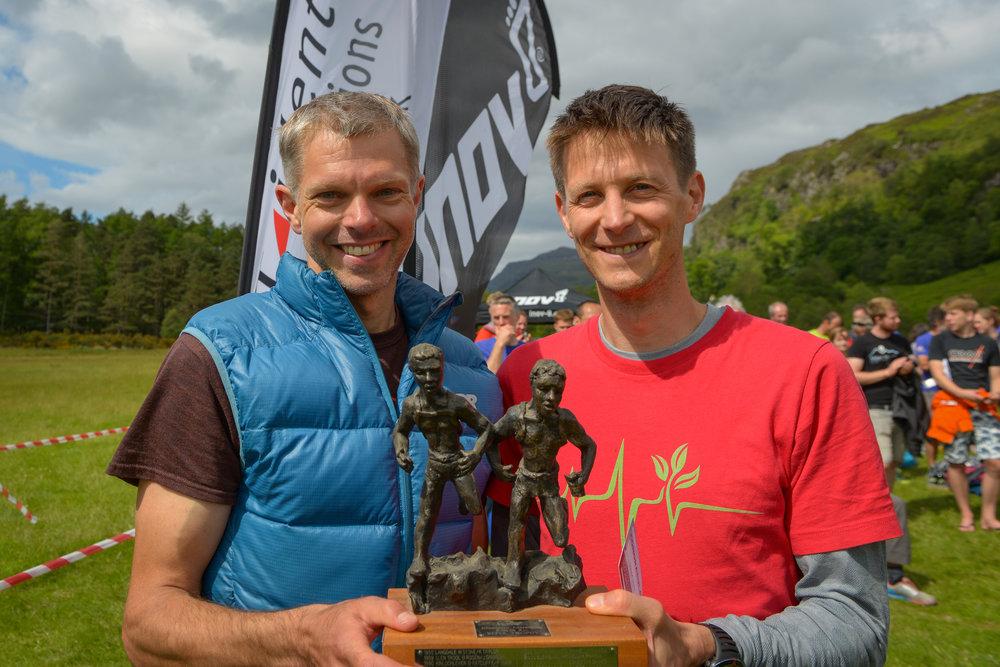 Duncan Archer and Shane Ohly winners of the LAMM Elite in 2017 ©Jon Brooke