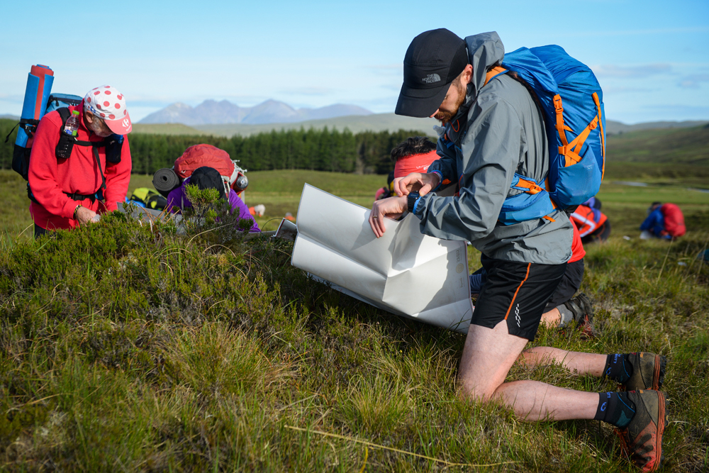Continuing the Mountain Marathon experience in Scotland's incredible terrain as seen here from the 2017 LAMM ©Jon Brooke