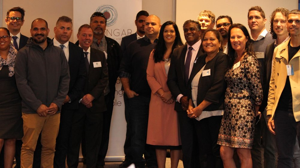 Above:  The official launch of the Noongar Chamber of Commerce and Industry (NCCI).