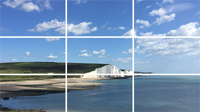 Guides - Choose from a number of preset guides including thirds, upper third and portrait safe. Alternatively create your own with a custom guides engine. This allows you to place any number of vertical and horizontal lines on the viewfinder.