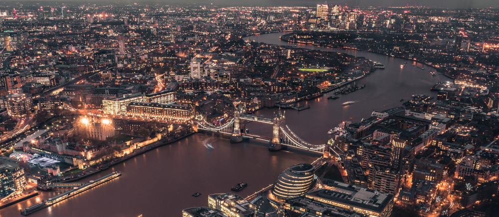 Overview of Brexit IP - London skyline