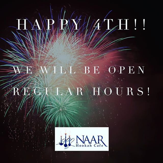 We will be open regular hours on the 4th! Come get your smoke on! #ccu #hookah #myrtlebeach #sc #horrycounty