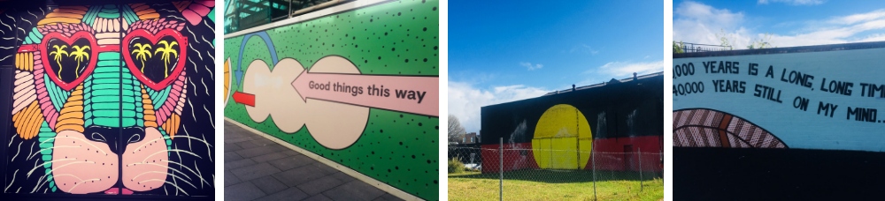 Street art around Sydney