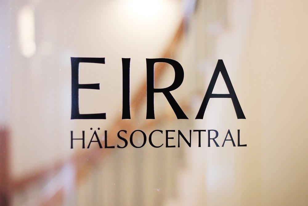 Logotyp till Eira Hälsocentral.