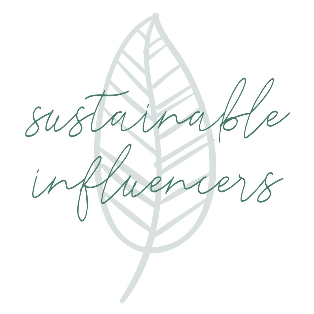 Logotyp till föreningen Sustainable Influencers