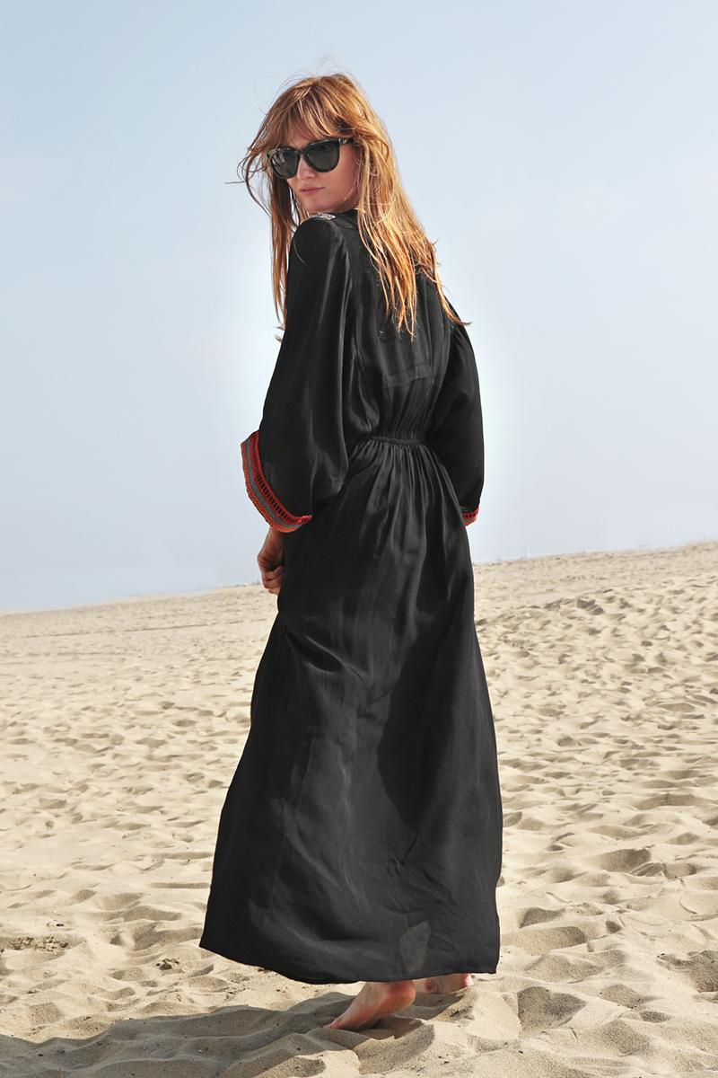 49005  MAHIRA DRESS BLACK