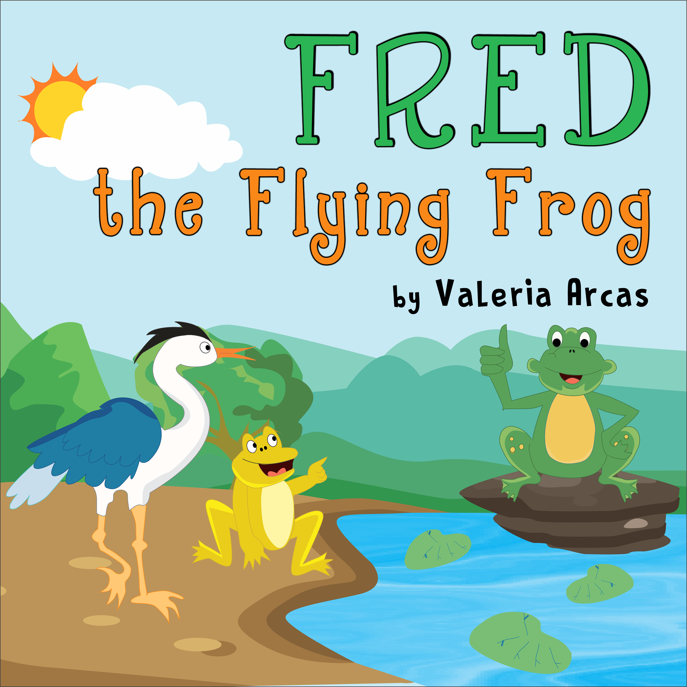 Fred the Flying Frog