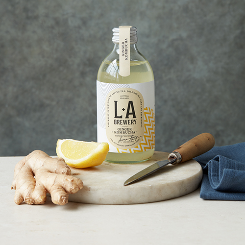 THURSDAY 13th DECEMBER - • KOMBUCHA •Fermented Tea with Louise Avery of L.A Brewery6.30pm – 8.30pmYou will learn about Louise, L.A Brewery (brewed here in Suffolk) & gut health before making your own brew using a basic recipe and learning how to add flavour and carbonation, finishing the evening off with a Q&A.You will leave with your own brewing kit, prepped for that January detox!£22