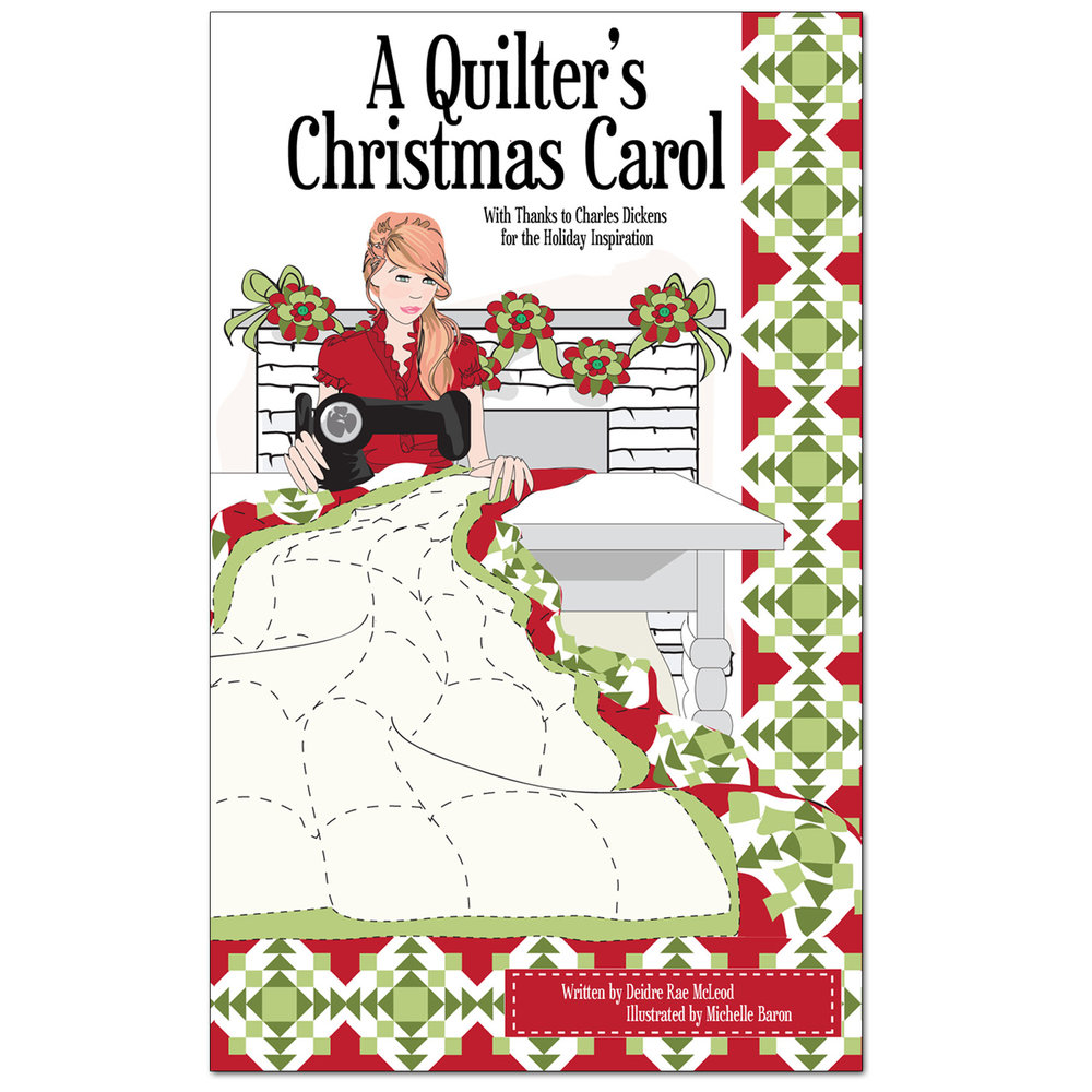 A Quilter's Christmas Carol book cover