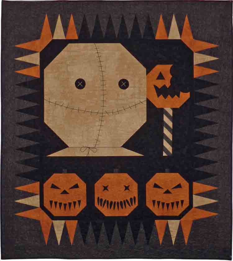 custom horror movie quilt by Whimzie Quiltz and More