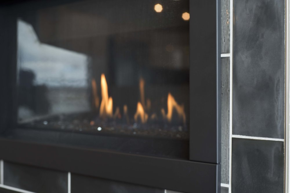 fireplace homes at river's edge grand rapids michigan