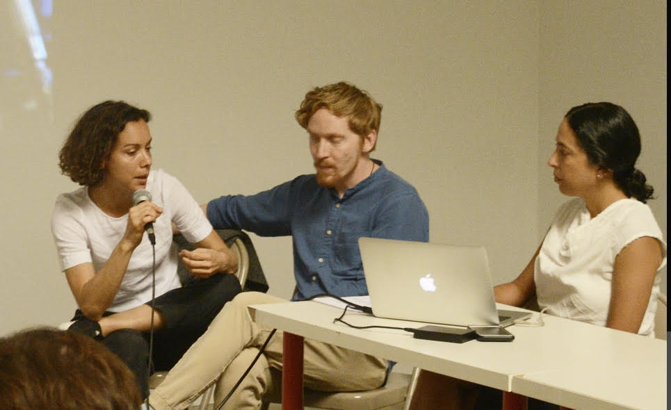 Barbara Wagner and Benjamin de Burca in Conversation with Luciana Solano  at Residency Unlimited NY