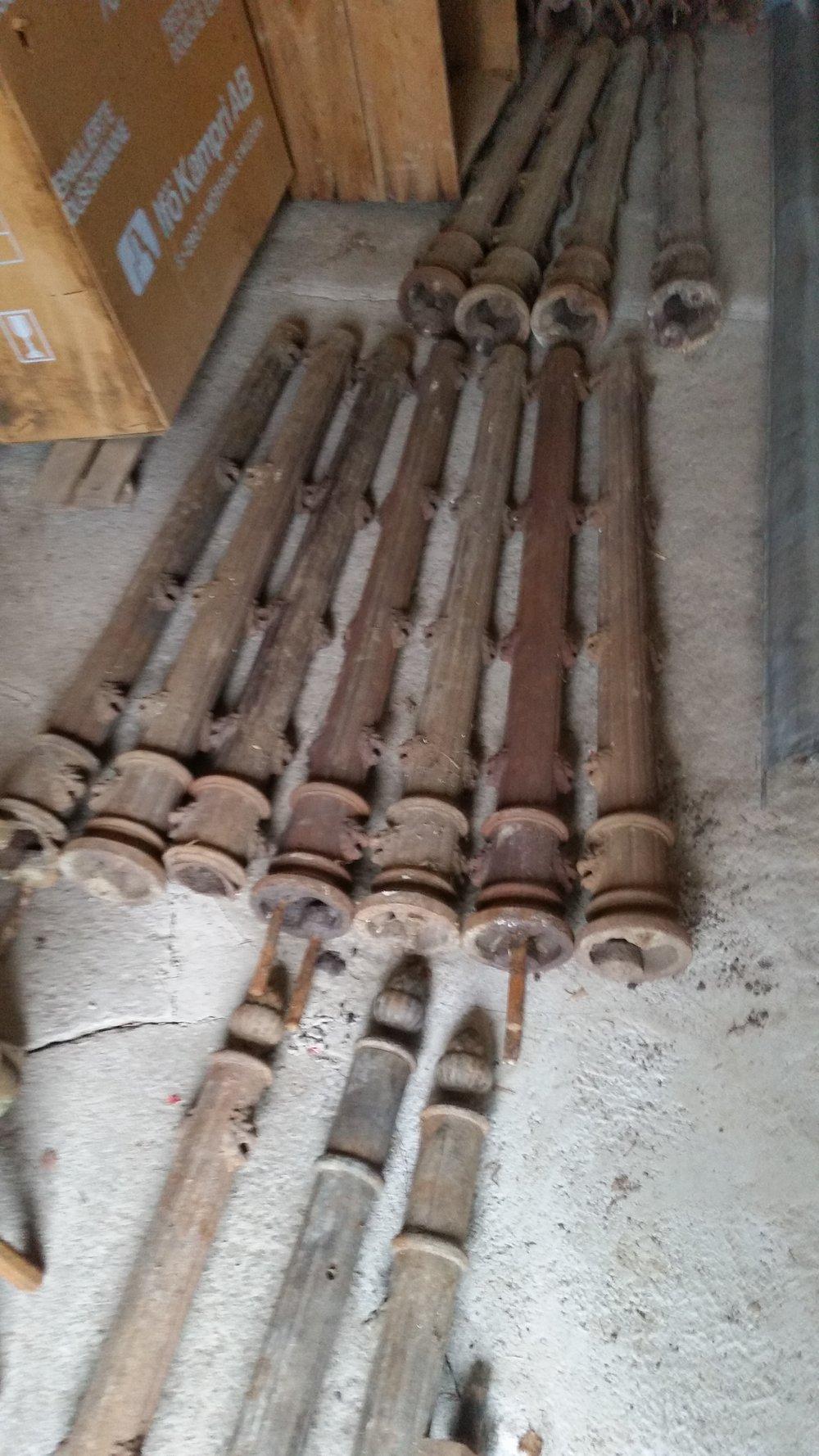Reparation av stolpar