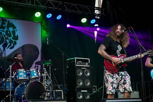 Did we have a blast at @gretna_fest ? You bet!  Thanks so much to everyone who came out to RAWK out with us! Next time to check us out will be November 2nd at the @foundationroomneworleans at @hobnola  #rocknroll #gibson #themolghosts #southernsoul