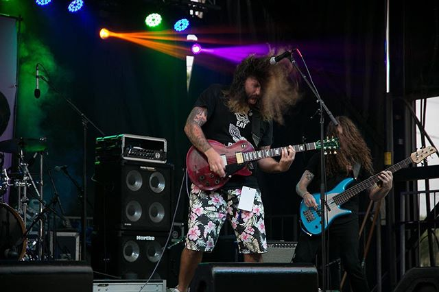 You can take the boys out the metal, but you can't take the metal out the boys! #headbangersball #rocknroll