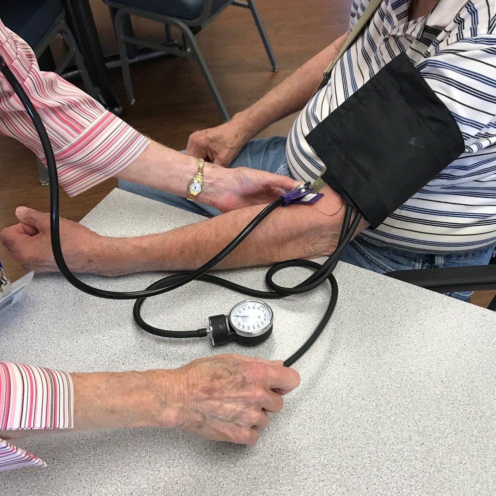 Blood Pressure Screens
