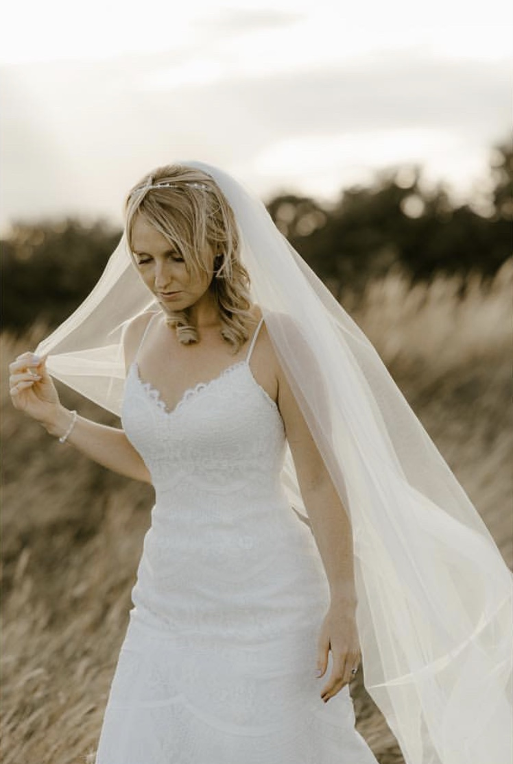 Image by Georgina Harrison Photography . Bride Faye Marr , Make up by The Shepherds Purse