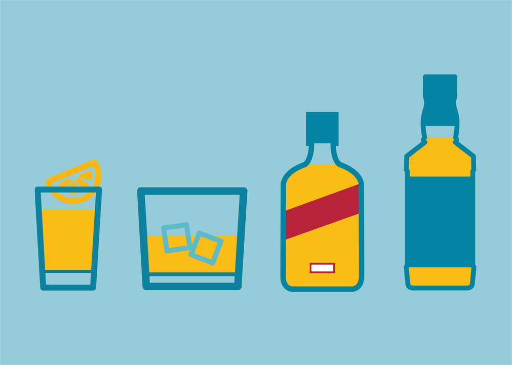 Units & calories in…spirits -
