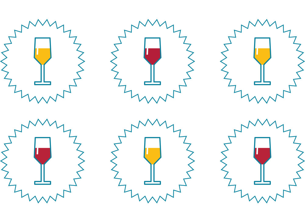 14 units is the same as six medium-sized glasses of 13% ABV wine.