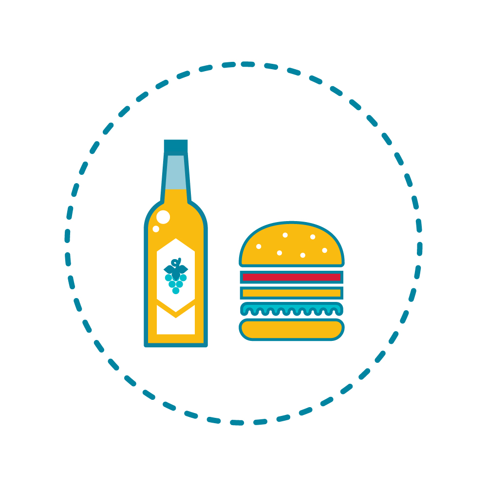 A bottle of wine = 555 calories, MORE than a Big Mac! -